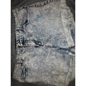 Forever 21 90's jean shorts
